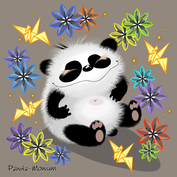 """Panda-Monium"" - Click Image to Close"