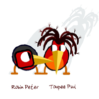 """Robin Peter Toupee Paul"""